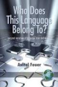 Who Does This Language Belong To? Personal Narratives of Language Claim and Identity (PB)