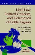 Libel Law, Political Criticism, and Defamation of Public Figures: The United States, Europe, and Australia