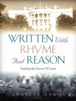 Written with Rhyme and Reason
