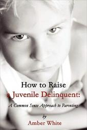 How to Raise a Juvenile Delinquent: A Common Sense Approach - White, Amber