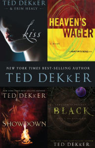 Dekker 4-in-1 Bundle: Black, Showdown, Heaven's Wager & Kiss - Ted Dekker