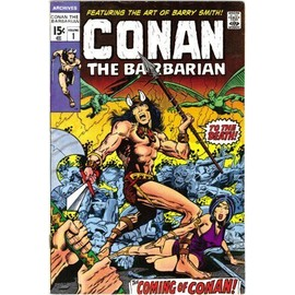 The Barry Windsor-Smith Conan Archives - Roy Thomas
