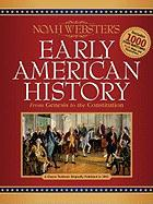 Noah Webster's Early American History