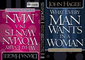 What Every Woman Wants in a Man/What Every Man Wants in a Woman: 10 Essentials for Growing Deeper in Love -10 Qualities for Nurtur - Hagee, John / Hagee, Diana