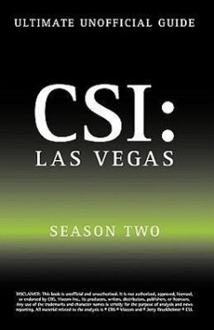 Ultimate Unofficial Csi Las Vegas Season Two Guide: Csi Las Vegas Season 2 Unofficial Guide - Benson, Kristina