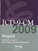 ICD-9-CM Hospital 2009, Vol. 1, 2 & 3: Full Size Spiral Edition
