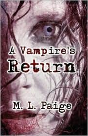 A Vampire's Return - M.L. Paige