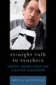 Straight Talk to Teachers - Bruce J. Gevirtzman