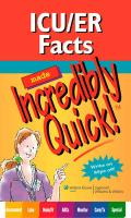 ICU/ER Facts Made Incredibly Quick!