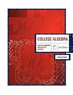 College Algebra 2nd Edition: Chapter Summaries & Practice Answers
