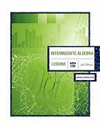 Intermediate Algebra 2nd Edition: Lessons