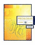 Precalculus 2nd Edition: Lessons