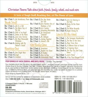 Chicken Soup for the Soul: Christian Teen Talk - 36 Stories of Tough Stuff, Reaching Out, and the Power of Love for Christian Teens