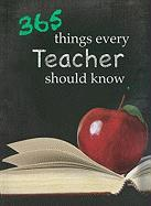 365 Things Every Teacher Should Know