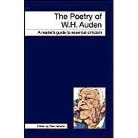 The Poetry Of W.H.Auden - Paul Hendon