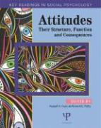 Attitudes: Their Structure, Function and Consequences