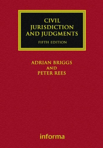 Civil Jurisdiction and Judgments (Lloyd's Commercial Law Library)  Auflage: 5 Revised - Rees, Peter, & Rees Briggs and Adrian Briggs
