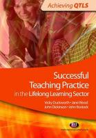 Successful Teaching Practice in the Lifelong Learning Sector