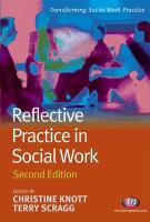 Reflective Practice in Social Work: Second Edition