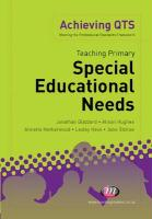 Teaching Primary Special Educational Needs (Achieving QTS)
