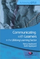 Communicating with Learners in the Lifelong Learning Sector - Nancy Appleyard; Keith Appleyard