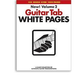 Guitar TAB White Pages: v. 2 - Collectif