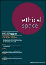 Ethical Space Vol.6 No.1 - Richard Keeble (Editor)