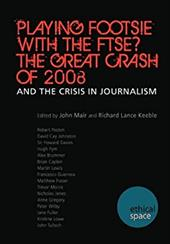 Playing Footsie with the Ftse? the Great Crash of 2008 - Mair, John / Keeble, Richard Lance