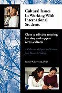 Cultural Issues in Working with International Students