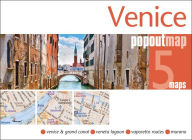 Venice Popout Map : 2 Pop-up Maps in Handy Pocket Size Format - Robert Marzano