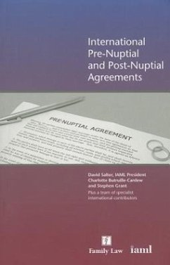 International Pre-nuptial and Post-nuptial Agreements - Salter, David Butruille-Cardew, Charlotte Francis, Nicholas Grant, Stephen