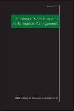 Employee Selection and Performance Management - Anderson, Neil / Hulsheger, Ute (eds.)