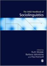 The SAGE Handbook of Sociolinguistics - Ruth Wodak (editor), Barbara Johnstone (editor), Paul E Kerswill (editor)