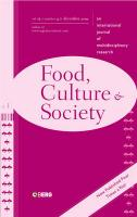 Food, Culture and Society Volume 12 Issue 4: An International Journal of Multidisciplinary Research