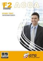 ACCA - F2 Management Accounting 2010: Study Text ACCA-F2-ST