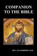 Barrows, E. P.: Companion to the Bible (Paperback)