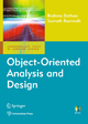 Object-Oriented Analysis and Design - Sarnath Ramnath;  Brahma Dathan
