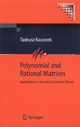 Polynomial and Rational Matrices - Tadeusz Kaczorek