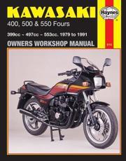 Kawasaki 400, 500 & 550 Fours Owners Workshop Manual - Haynes Publishing