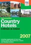 Recommended Country Hotels of Britain