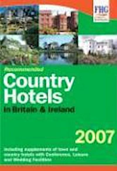 Recommended Country Hotels of Britain - Anne Cuthbertson