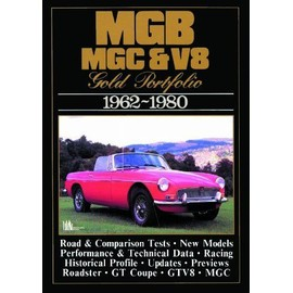 Mg, Mgb, Mgc And V8 Gold Portfolio, 1962-80 - Clarke R.M.