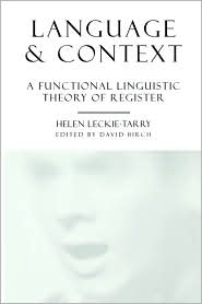 Language & Context - Helen Leckie-Tarry, David Birch (Editor)