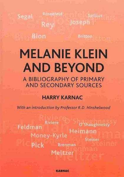 Karnac, H: Melanie Klein and Beyond
