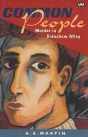 Common People: Murder in Sideshow Alley