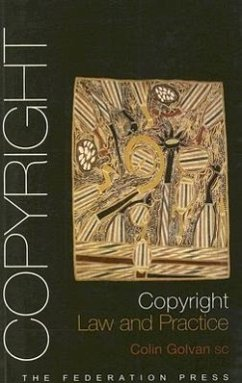 Copyright Law and Practice - Golvan, Colin