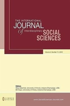 The International Journal of Interdisciplinary Social Sciences: Volume 4, Number 11