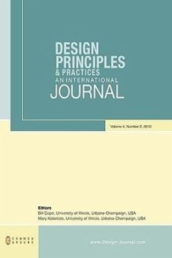 Design Principles and Practices: An International Journal: Volume 4, Number 2 - Herausgeber: Cope, Bill Kalantzis, Mary