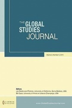 The Global Studies Journal: Volume 3, Number 4 - Herausgeber: Pieterse, Jan Nederveen Cope, Bill