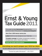 The Ernst & Young Tax Guide - Ernst & Young / Bernstein, Peter W.
